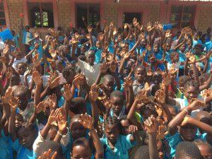 crianças moçambique
